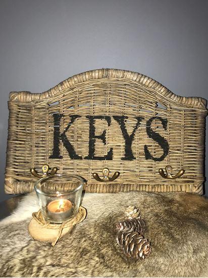 """Afbeelding van SLEUTELREK """"KEYS"""""""