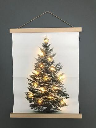 Kerstboom canvas led