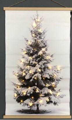 Canvas doek kerstboom