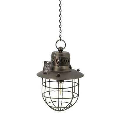 Hanglamp led brons