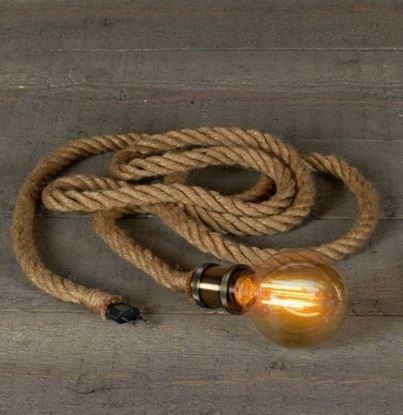 Fitting stoer touw met stekker