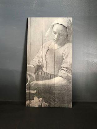Decoratie paneel melkmeisje
